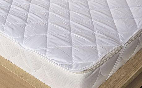 Kvalitex Chránič matrace prošitý z dutého vlákna, 180 x 200 cm