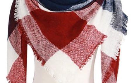 Dámský teplý šátek na zimu - 24 variant