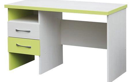 Psací stůl NICK UNIVERZÁLNÍ C010 CEZ -creme zelená