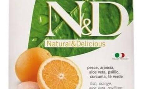 Granule N&D Grain Free CAT Adult Fish & Orange 1,5 kg + Doprava zdarma