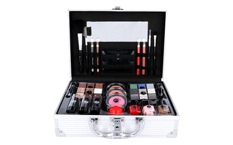 2K All About Beauty Train Case dekorativní kazeta dárková sada W - Complete Makeup Palette
