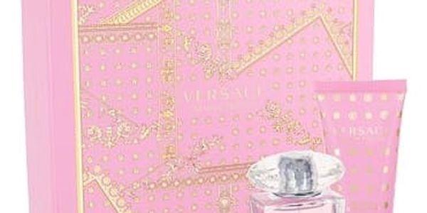 Versace Bright Crystal EDT dárková sada W - EDT 30 ml + tělové mléko 50 ml