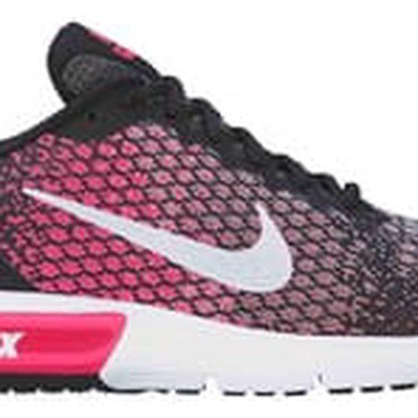 Dámské tenisky Nike WMNS AIR MAX SEQUENT 2 | 852465-004 | Růžová, Černá | 40,5