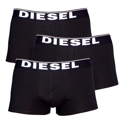 3PACK Boxerky Diesel The Essential Black L