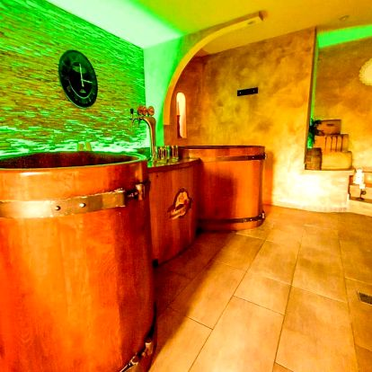 Wellness pobyt v pivních lázních v Hotelu Beskyd s polopenzí