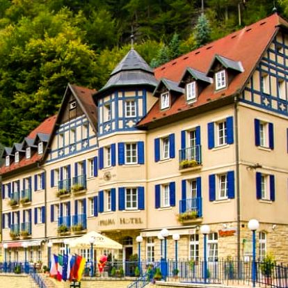 České Švýcarsko s polopenzí a degustací vín