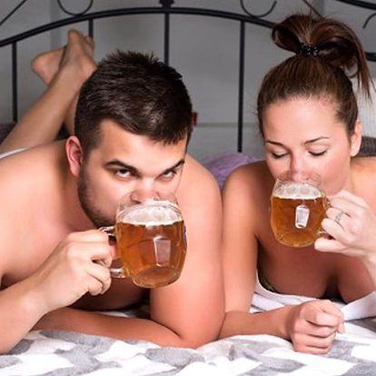 Pravá kvasnicovo-pivní koupel pro 2 osoby (90 minut)
