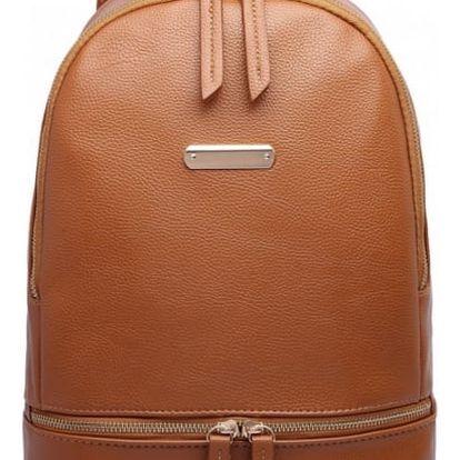 Dámský hnědý batoh Zazi 6606