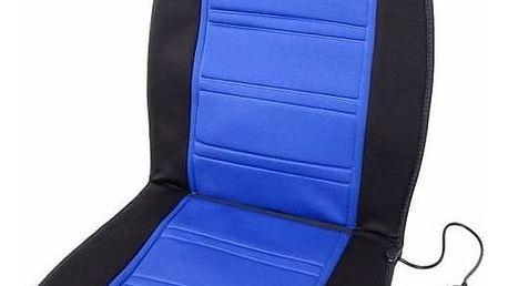 Potah sedadel Compass Ladder, vyhřívaný modrý + Doprava zdarma