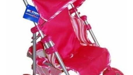 Kočárek HM Studio 439351-8 sporťák golf, růžový proužek