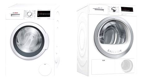 Set (Sušička prádla Bosch WTH85290BY) + (Automatická pračka Bosch WAT28467CS) + DOPRAVA ZDARMA