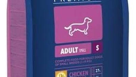 Granule Brit Premium Dog Adult S 8 kg + 1,5 kg ZDARMA + Doprava zdarma