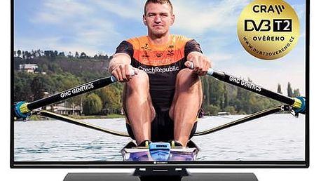 Televize GoGEN TVF 43P525T černá + DOPRAVA ZDARMA