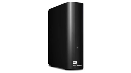 "Externí pevný disk 3,5"" Western Digital 2TB (WDBWLG0020HBK-EESN) černý"