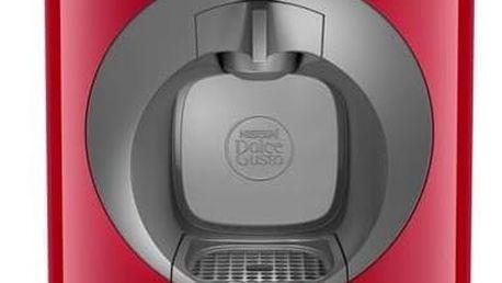 Espresso Krups NESCAFÉ® Dolce Gusto™ Oblo KP110531 červené + Doprava zdarma
