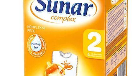 8x SUNAR Complex 2 (600 g) - kojenecké mléko
