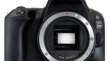 Digitální fotoaparát Canon EOS 200D (2250C001) černý + DOPRAVA ZDARMA