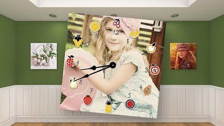 Nástěnné hodiny s fotografií dle vašeho výběru ve 3 různých rozměrech