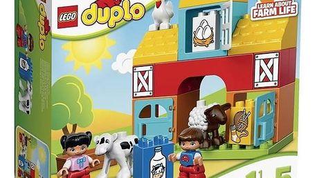 Stavebnice LEGO® DUPLO Toddler 10617 Moje první farma + Doprava zdarma
