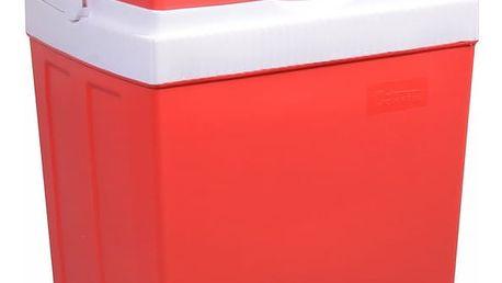 Chladicí box Compass 30 l RED 220 / 12 V displej s teplotou + DOPRAVA ZDARMA