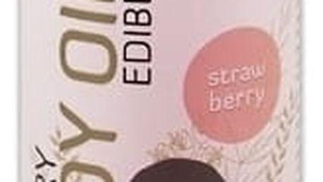 Erotický masážní olej jahoda Shiatsu