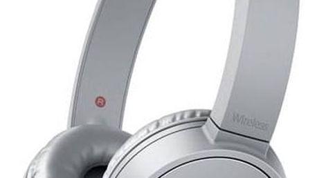 Sluchátka Sony MDR-ZX220BT (MDRZX220BTH.CE7) šedá + Doprava zdarma