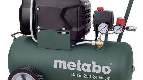 Kompresor Metabo Basic250-24WOF + Doprava zdarma