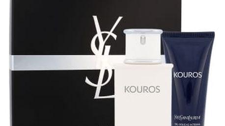 Yves Saint Laurent Kouros dárková kazeta pro muže toaletní voda 100 ml + sprchový gel 100 ml