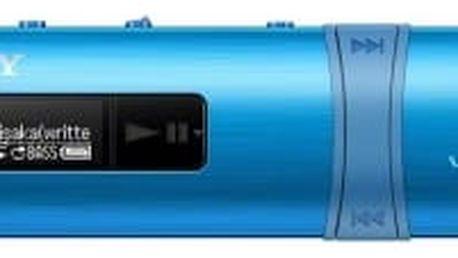 Sony NWZ-B183F 4 GB, modrá
