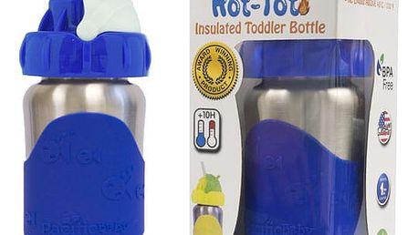 PACIFIC BABY Hot-Tot Termoska s brčkem 260 ml modrá