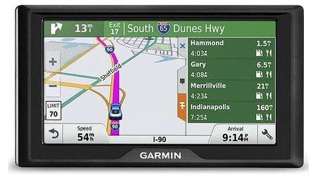 Navigační systém GPS Garmin Drive 60T Lifetime Europe45 černá + Doprava zdarma