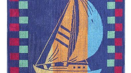 JAHU Plážová osuška Plachetnice, 90 x 180 cm