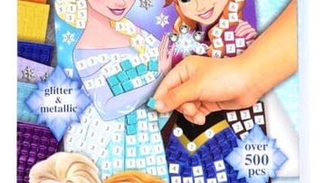 Mozaikový obrázek Ledové království