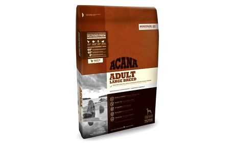 Granule Acana Dog Adult Large Breed Heritage 17 kg + Doprava zdarma