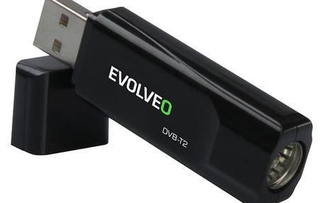 TV tuner Evolveo Sigma T2 (SGA-T2-HEVC) černá