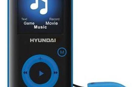 MP3 přehrávač Hyundai MPC 883 GB16 FM B černý/modrý + Doprava zdarma