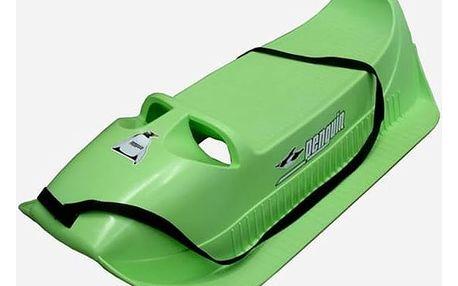 Sáně Acra Alfa plastové zelené + Doprava zdarma