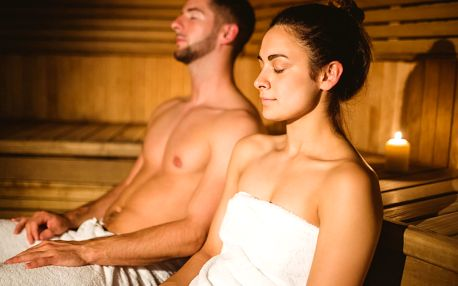 Privátní sauna a vířivka pro 2 osoby
