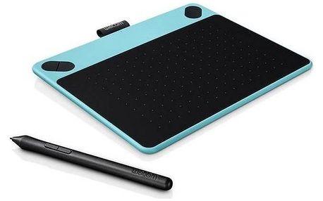 Tablet Wacom Intuos Art Pen&Touch S (CTH-490AB) modrý + Doprava zdarma