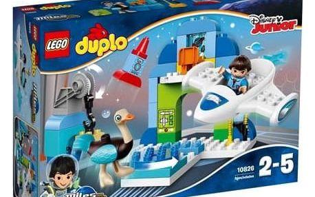 Stavebnice LEGO® DUPLO 10826 Milesův hangár pro jeho vesmírnou loď Stellu + Doprava zdarma
