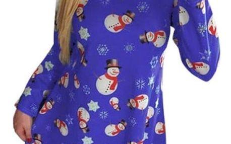 Šaty s vánočním motivem - 6 variant