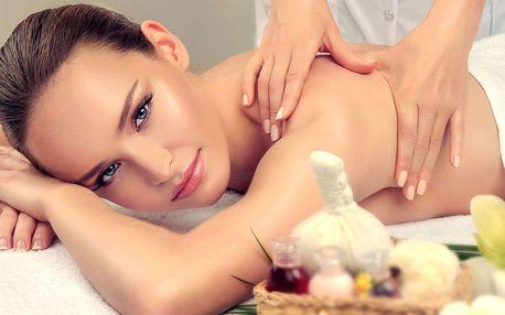 Relaxační wellness balíček s masáží pro 1 či 2 osoby v Hotelu Golf