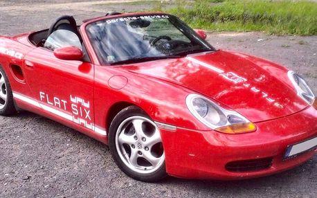 Zapůjčení kabrioletu Porsche Boxster na víkend