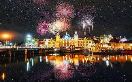 4denní silvestrovský zájezd pro 1 osobu do Amsterdamu i s lahví sektu