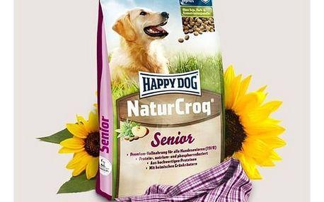 Granule HAPPY DOG Natur-Croq Senior 15 kg + Doprava zdarma