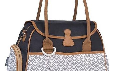 Přebalovací taška Babymoov Style Bag Black šedá/modrá + Doprava zdarma