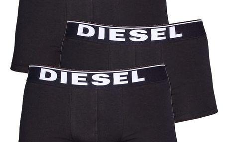 3PACK Boxerky Diesel The Essential Black L