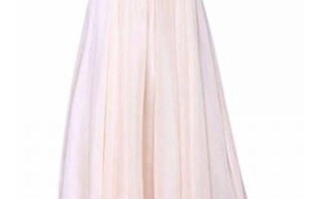 Nádherné plesové šaty s kamínky na prsou