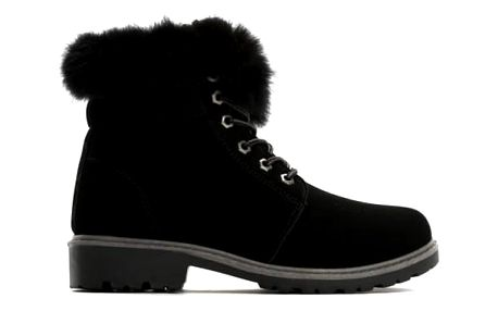 Dámské černé kotníkové boty Lio 6190
