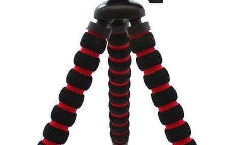 Stativ MadMan flexibilní střední (MDMOCTOMIDDLE) černý/červený